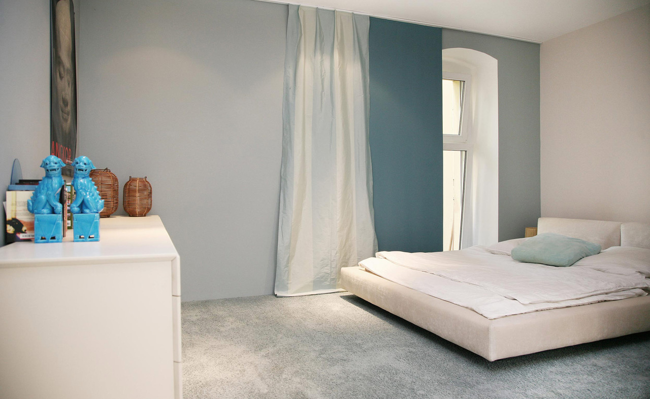 brillant interiors Interior Designer Berlin Mitte Private Rooms Some cool relaxation in Asian atmosphere.