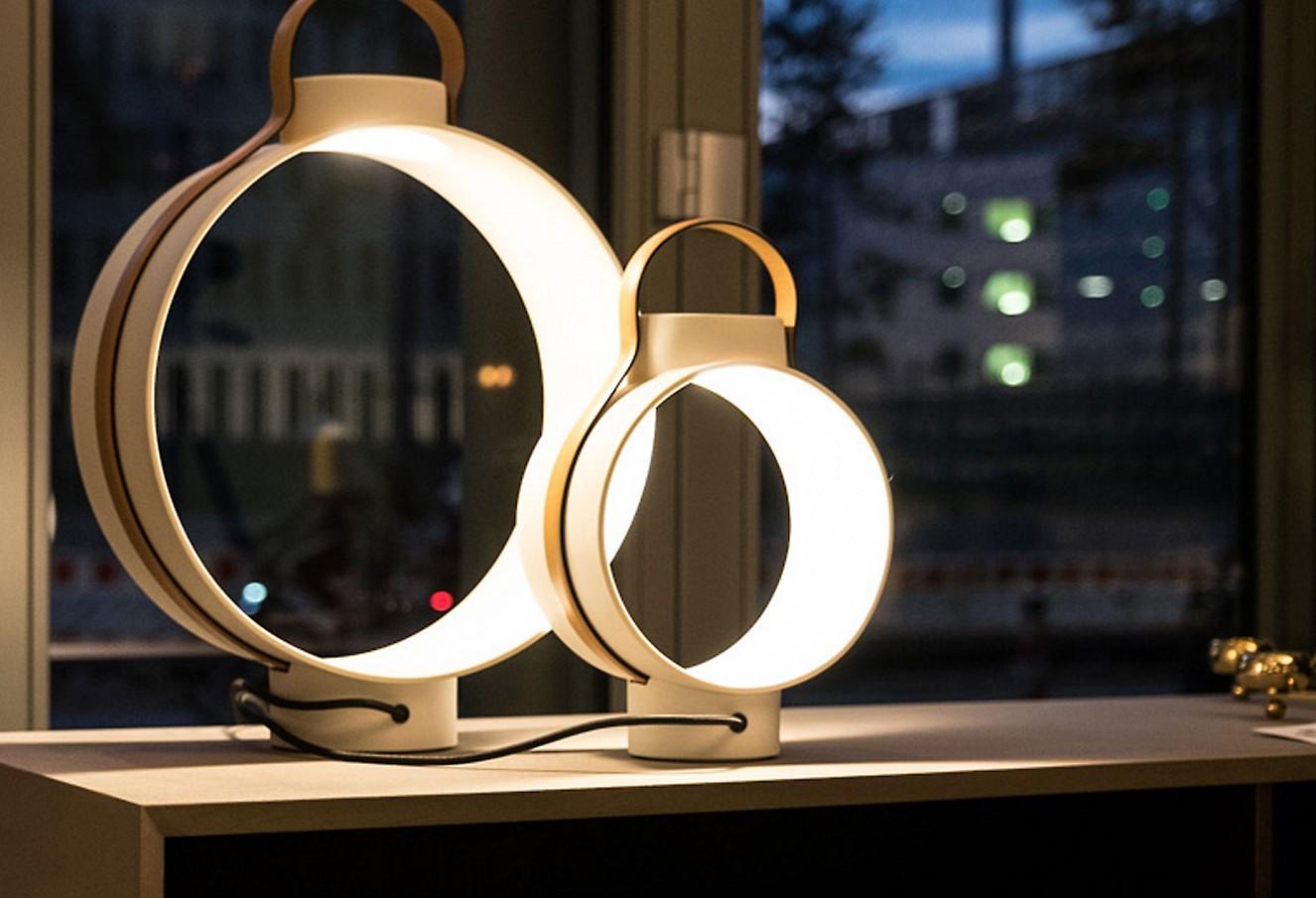 brillant interiors Innenarchitekt Berlin Mitte Leuchten von Dante/Rosenthal
